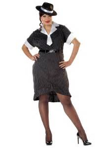 cheap tombstones women 39 s plus size flirty gangster costume