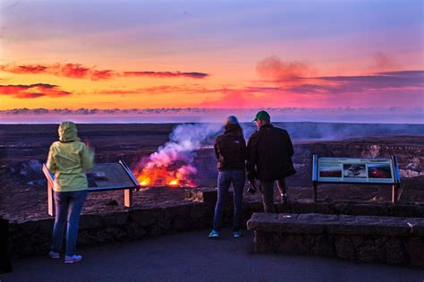 national park volcanoes crater lava hawaii museum volcano jaggar halema uma lake hawai area visitors nps tour admission island service