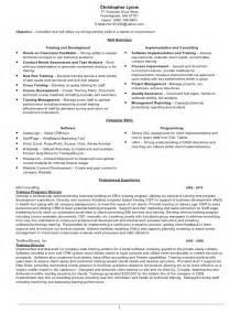 trainer resume objective 12 sle corporate trainer resume recentresumes