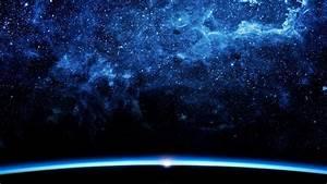 Pretty Blue Galaxy Space HD Backgrounds - Desktop Wallpapers
