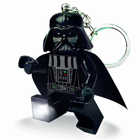 lego darth vader led keychain light so that s cool