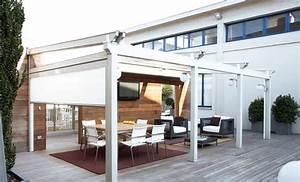 Abri De Terrasse Retractable : la pergola modulable toiture d couvrable abri terrasse ~ Dailycaller-alerts.com Idées de Décoration