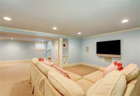 winter basement remodeling ideas