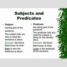 Sentences Unit Chapter One  Ppt Download