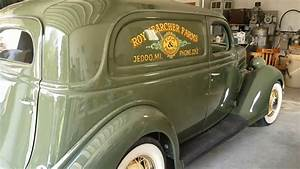 1936 Ford Sedan Delivery For Sale Concourse Restored