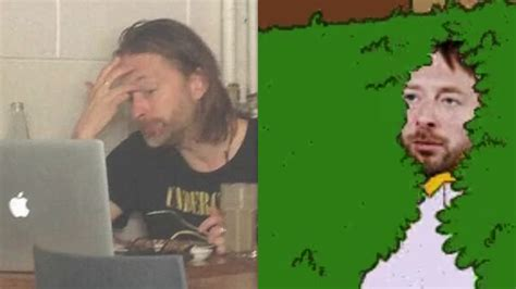 Thom Yorke Meme - the internet is having loads of fun at radiohead s expense music feeds