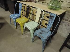 Chaise Le Bon Coin : chaise tolix occasion bon coin table de lit ~ Teatrodelosmanantiales.com Idées de Décoration