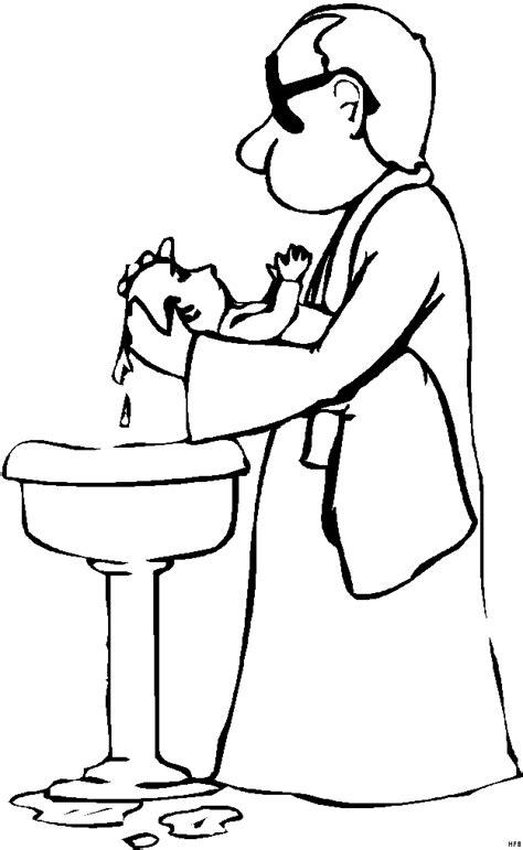 battesimo clipart battesimo 2 disegni per bambini da colorare
