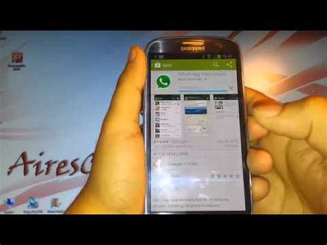 whatsapp messenger install at samsung galaxy s3 s4 note2