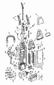 Hoover Windtunnel Upright Vacuum Parts Diagram