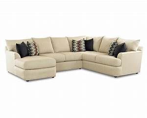 sectional sofa with left side chaise lounger by klaussner With sectional sofa with left side chaise