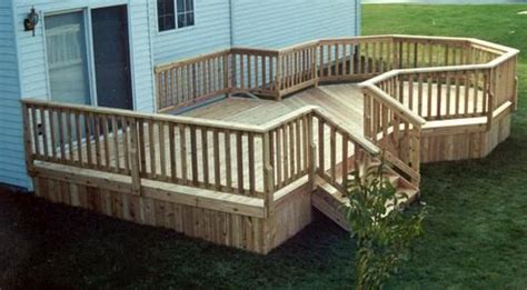 menards deck building plans 12 x 16 deck w 10 octagon plan at menards home