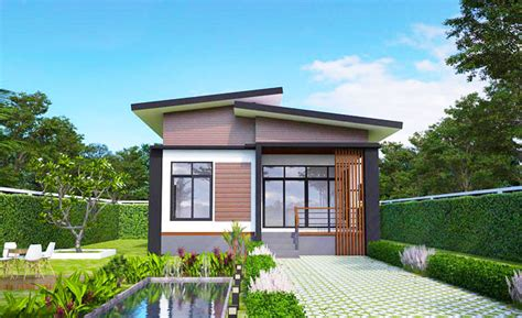 7 Metre Wide Home Designs : Elevated Modern Single Storey House