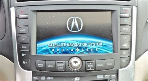 07 08 Acura Tl S-type Gps Lcd Screen Navigation Radio