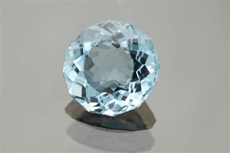 photo gem blue topaz gemstone facet  image