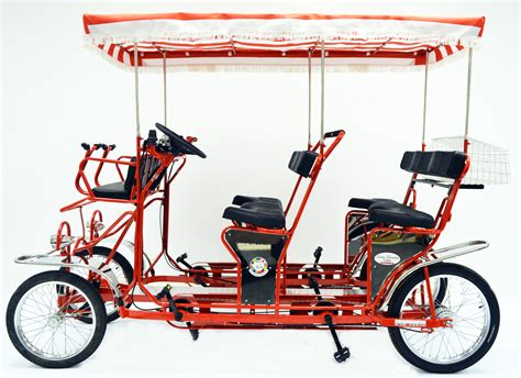Surrey Bike, Four Wheel Bike, 2 & 4 Person Bicycle, Surrey