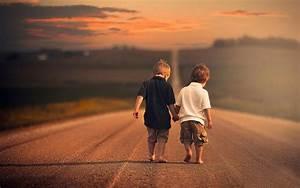 Two Friends Cute Wallpaper HD Download Of Best Friendship