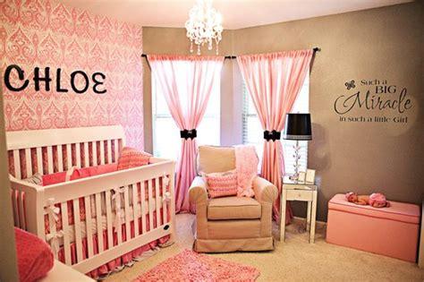 chambre bébé fille originale décoration chambre bébé originale