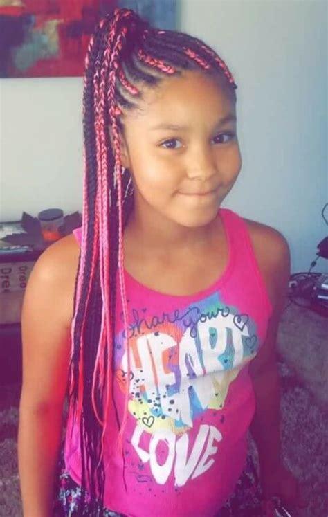 box braids  kids  natural hairstyles