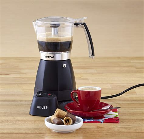 More than 61 imusa electric espresso moka maker red 6 cup at pleasant prices up to 31 usd fast and free worldwide shipping! IMUSA Electric Moka Coffee Maker - Coffee Like A Barista