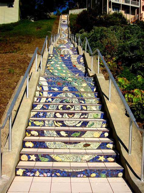 16th avenue tiled steps in san francisco 16th avenue tiled steps aileen barr and colette crutcher
