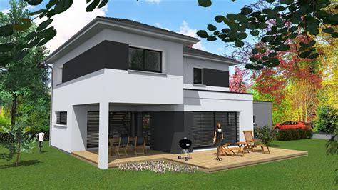 cabinet de maitrise d oeuvre c 178 maison contemporaine m 233 lange de toitures sur sierentz haut