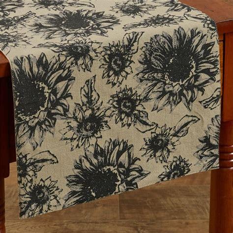 park designs table runner sunflower garden table runner 13 quot x 54 quot park designs