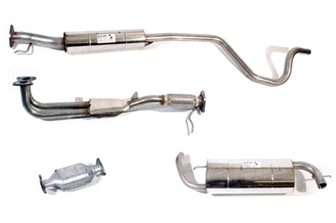 The Types Of Exhaust Systems