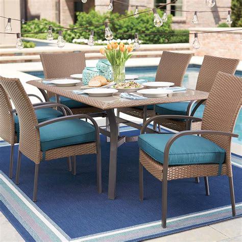 home depot patio sets create customize your patio furniture corranade