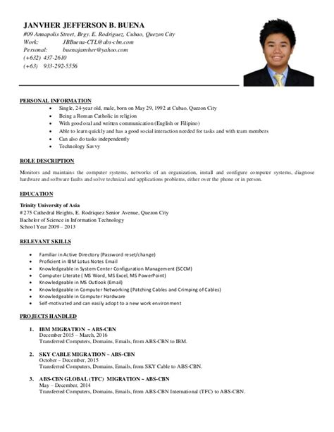 Official Cv Template by Official Cv