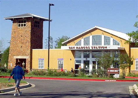 san marcos tx san marcos station amtrac  greyhound