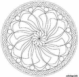 Dessin De Plume Facile : coloriage mandala difficile 13 dessin ~ Melissatoandfro.com Idées de Décoration