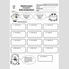 Year 5  Order Of Operations Worksheet (15) By Jinkydabon  Teaching Resources