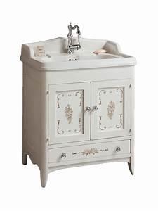Waschtisch Doppelt Mit Unterschrank : cipro landhaus waschtisch mit dekor holz unterschrank 68 cm badelaedchen ~ A.2002-acura-tl-radio.info Haus und Dekorationen