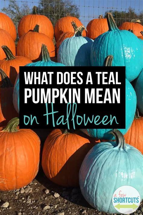 teal pumpkin   halloween   shortcuts