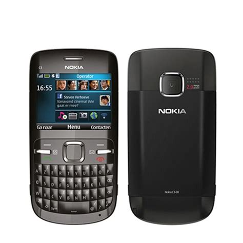 Nokia Mobile C3 by New Conditon Nokia C3 00 Black Unlocked Mobile Phone With