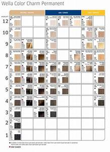 Gallery Of The Hair Dye Colors Chart For Coloring Your