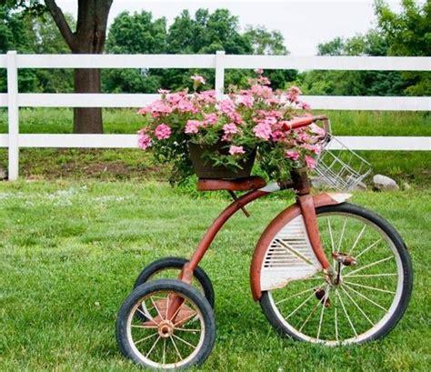 สวนดอกไม้น่ารักๆ   ไอเดีย, ร้านดอกไม้, จักรยาน