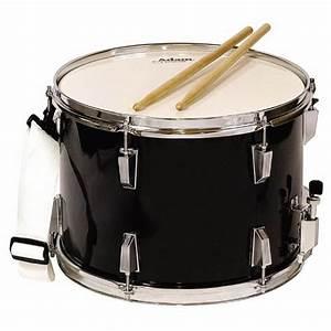 Adam Percussion Marching Snare Drum - Black | Musical ...