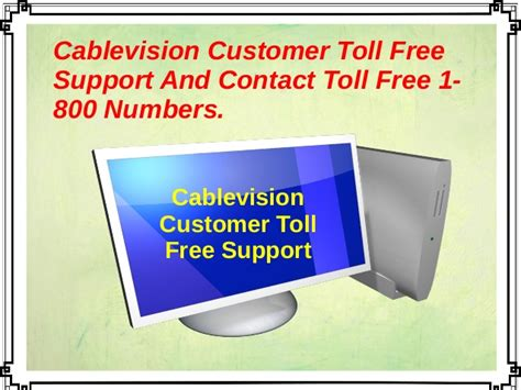 cablevision customer toll free support and contact toll