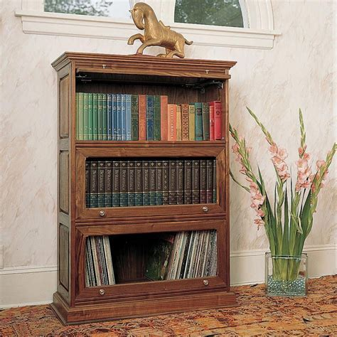 barristers bookcase plan bookcase plans woodworking
