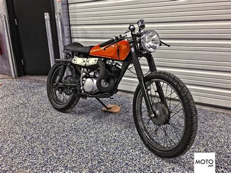 1975 Suzuki Ts185 by 1975 Suzuki Ts185 Custom Cafe Racer For Sale