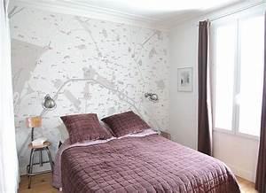 papier peint design chambre papier peint woods with With chambre bébé design avec fleurs livraison paris