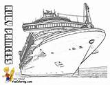 Coloring Ships Cruise Ship Princess Colouring Titanic Queen Ruby Template Yescoloring Swanky Crown Templates sketch template
