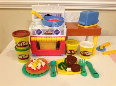 play doh cuisine play doh meal makin 39 kitchen how to play doh pizza