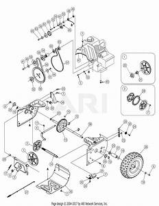 Mtd 31as6bce752  2006  Parts Diagram For Drive Assembly