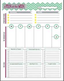 Free Printable Teacher Planner Pages