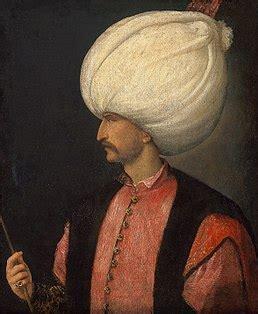 sultano ottomano solimano il magnifico