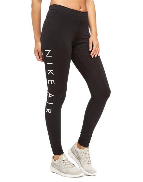 Lyst - Nike Air Leggings in Black