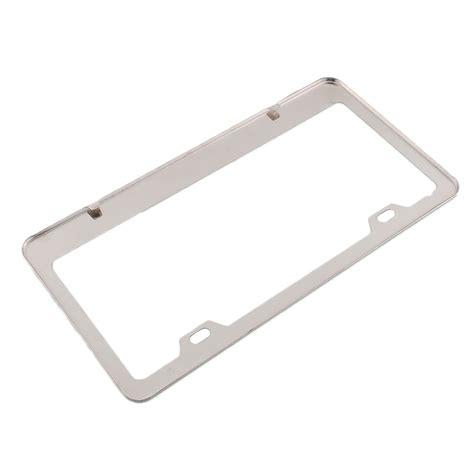 achetez en gros chrome cadre de plaque d immatriculation en acier inoxydable en ligne 224 des